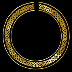 Celtic guitar rosette