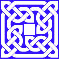 Celtic knot sample Inverse Style
