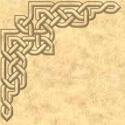 Corner design Celtic knot