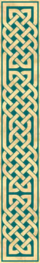 Vertical Celtic knot