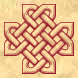 Celtic knot cross 3D