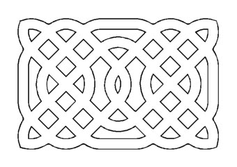 drawing Celtic knot